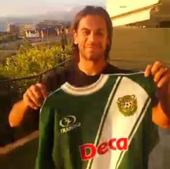 El goleador aún guarda la camiseta del CDO.