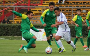 """""""Los potros"""" igualaron a un gol en La Pintana."""