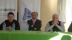 Miguel Nasur estuvo presente en su presentación.