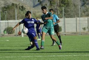 Marcos Robles fue titular y jugó hasta los 87' (Foto: Leonel Pizaro)